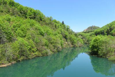 破間川渓谷 新緑