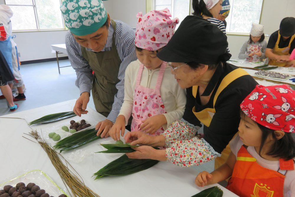 笹団子作り