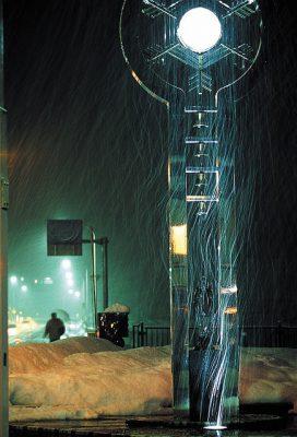 第3回【カレンダー賞】吹雪の夜