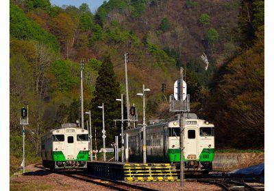 第7回【只見線部門銀賞】列車待ち