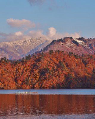 第13回【観光協会長賞】ワインレッドの湖