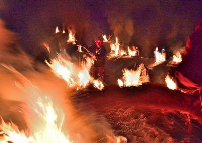 第13回【イベント大賞】百八の炎