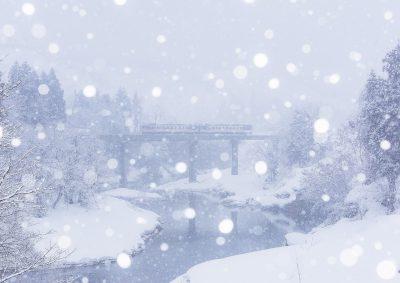 第14回【JR只見線部門銀賞】豪雪に負けず