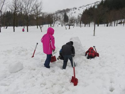うおぬま雪遊び体験ツアー
